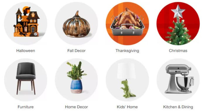 Get  in FREE Home Decor from Target