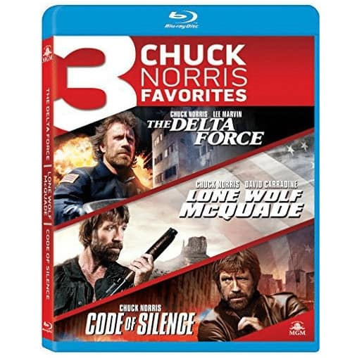 Chuck Norris Triple Feature Blu-ray Now .99
