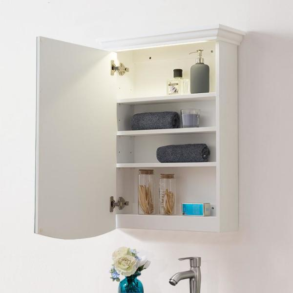 Surface Mount Medicine Cabinet with LED
