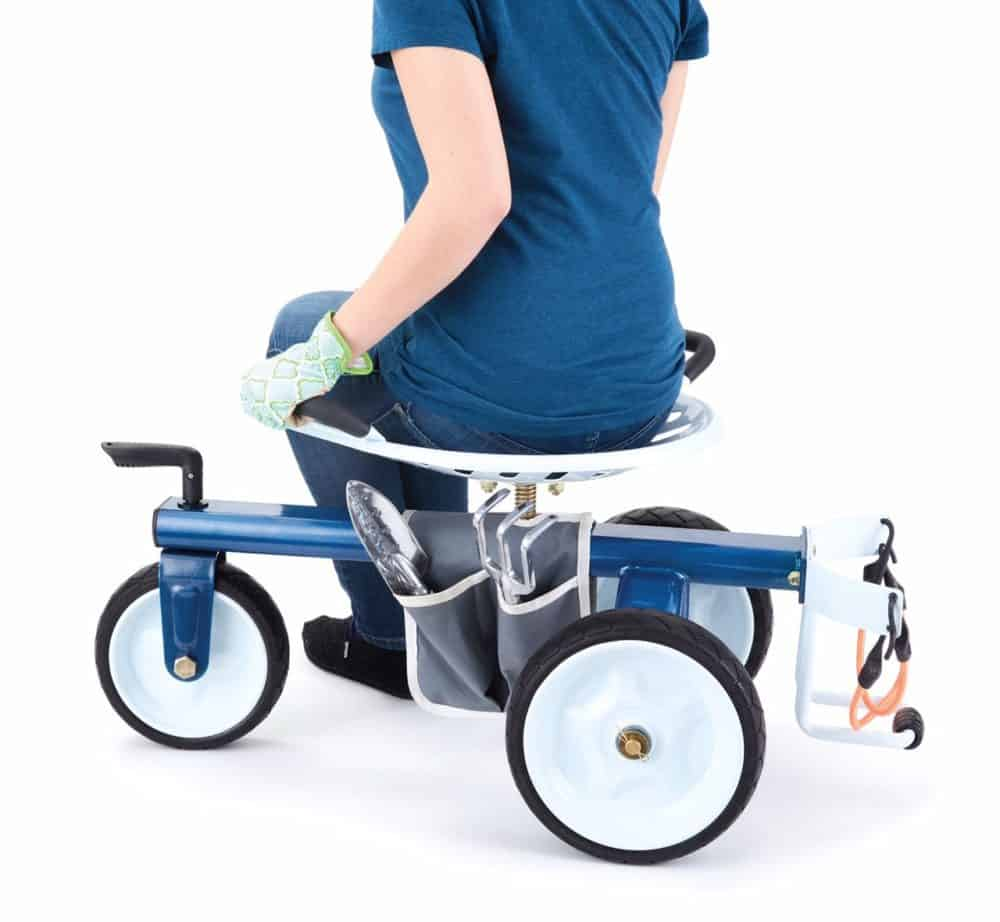 Gorilla Carts GCG-RGS Rolling Garden Scooter Now .69 (Was )
