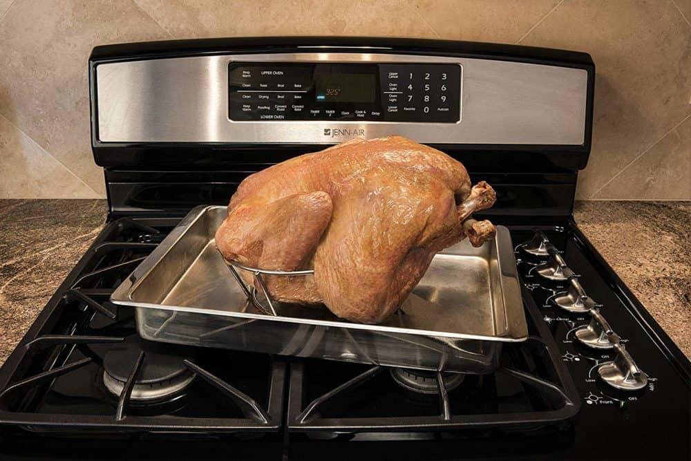 Topsy Turkey Roaster Rack - Cook the Most Moist Turkey Breast Ever!