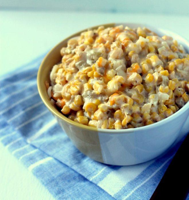 Cream-Cheese-Corn-Casserole-with-Green-Chile