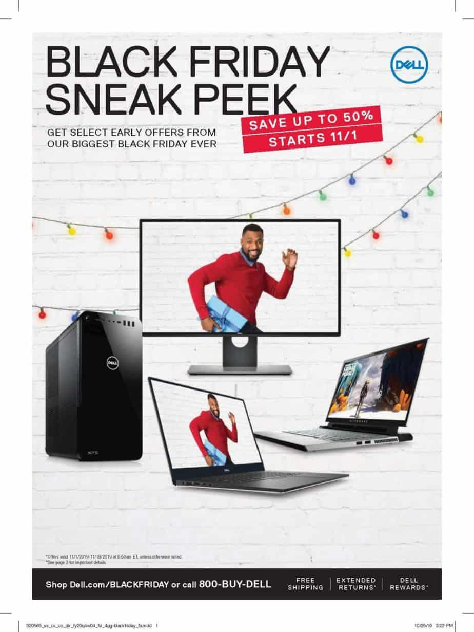 2019 Dell Black Friday Ad Scan