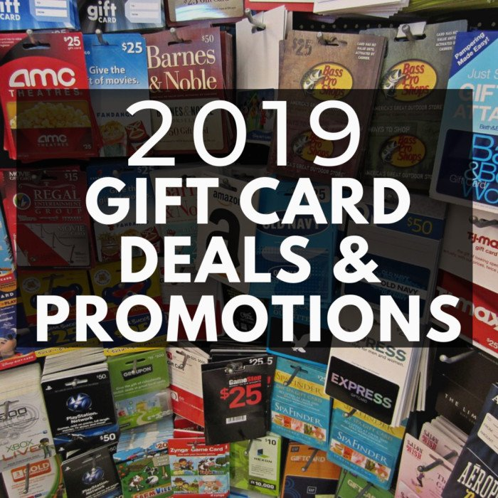 Gift Card Deals and Promotions