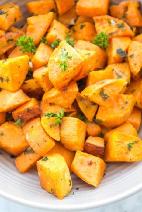 Herb-Roasted Sweet Potatoes