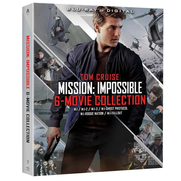Mission: Impossible - 6 Movie Collection Blu-ray .83