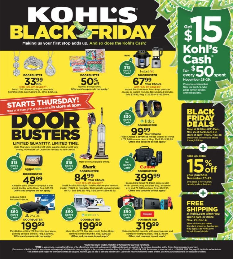 2019 Kohl's Black Friday Ad Scan - See the Full Scan Here!