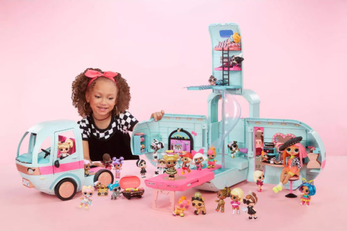 L.O.L. Surprise! 2-in-1 Glamper Fashion Camper with 55+ Surprises Now .99 (Was )