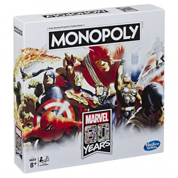 Monopoly Marvel 80 Years Edition Board Game ONLY  at Game Stop