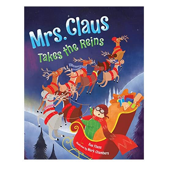 Up to 60% Off Kids Christmas Books - Mrs. Claus Takes the Reins .99