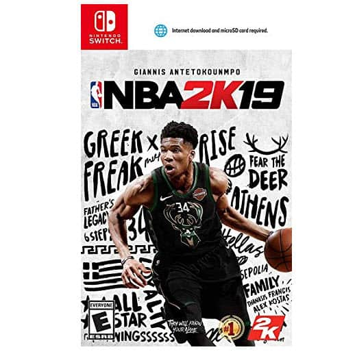 NBA 2K19 - Nintendo Switch Game Now .99 (Was .99)
