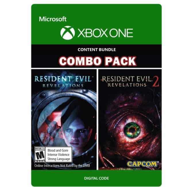 Resident Evil Revelations 1 & 2 Bundle - Xbox One [Digital Code] Now .00 (Was .99)