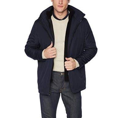 Calvin Klein Men's Rip Stop Hooded Jacket Now .49 (Was 4.99)