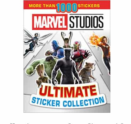 Ultimate Sticker Collection: Marvel Studios: 1000 Stickers Now .24 (Was .99)