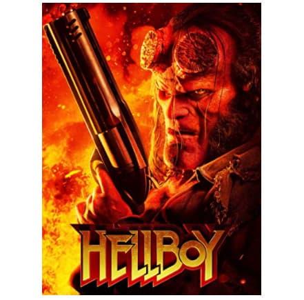 Rental of Hellboy Now $0.99