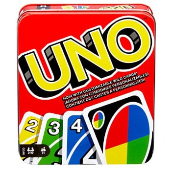 Mattel Games: The Official Uno Tin Now .49 (Was .99)