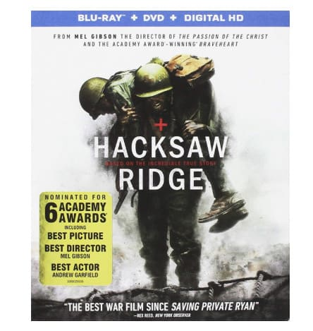 Hacksaw Ridge [Blu-ray] Now .99 (Was .99)