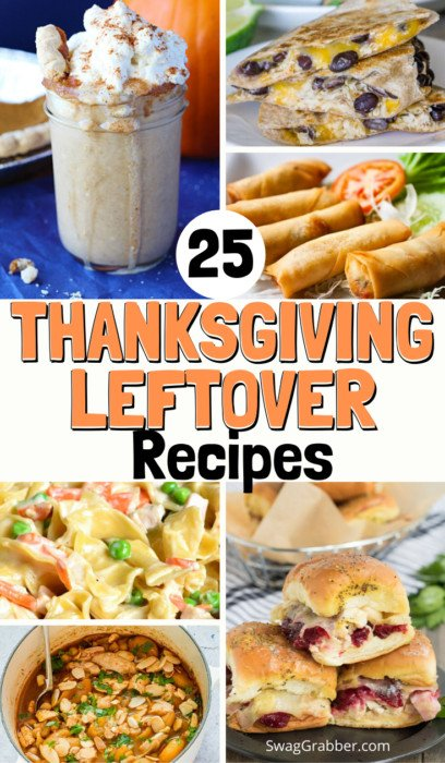 25 Not Boring Thanksgiving Leftover Recipes