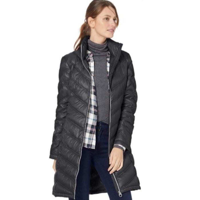 Calvin Klein Women's Chevron Packable Down Coat Now .99 (Was 7.49)