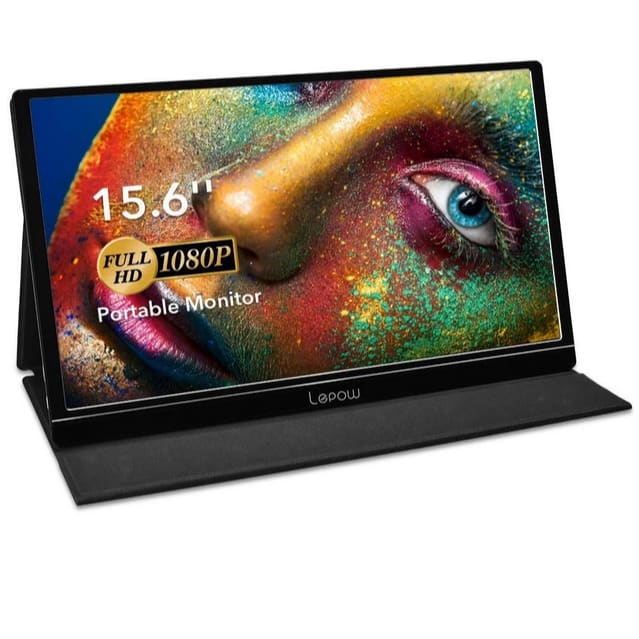Lepow 15.6 Inch Full HD 1080P Portable Monitor Now 9.99 (Was 9.99)