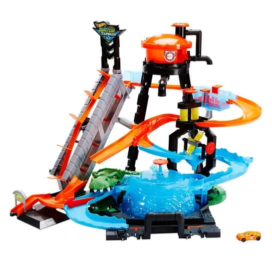 Hot Wheels Ultimate Gator Car Wash Playset Now .99 (Was .99)