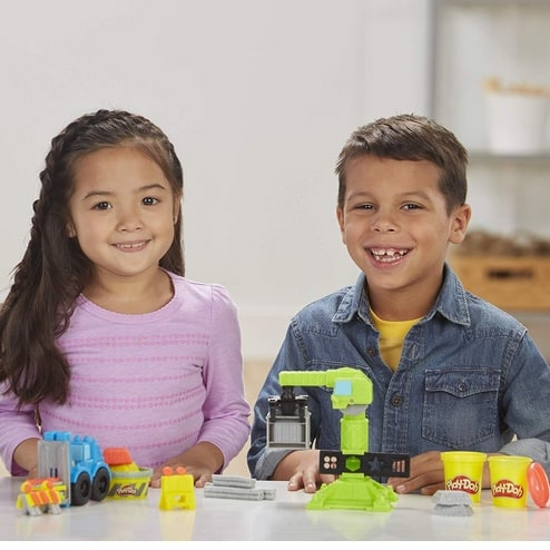 Play-Doh Wheels Crane & Forklift Construction Toys