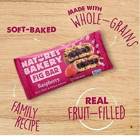 Nature's Bakery Whole Wheat Fig Bars 12 Count Now .08