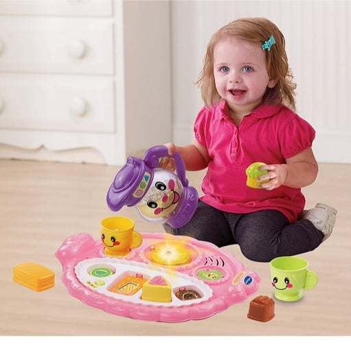 VTech Learn & Discover Pretty Party Playset Now .99