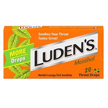 Luden's Menthol Throat Drops 20 Drops Now .11