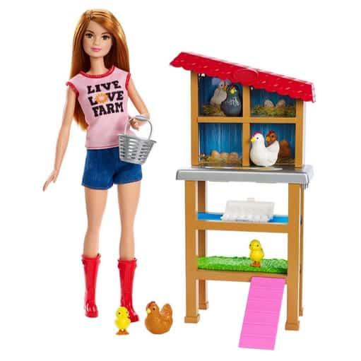 Barbie Chicken Farmer Doll & Playset Now .97 (Was .99)