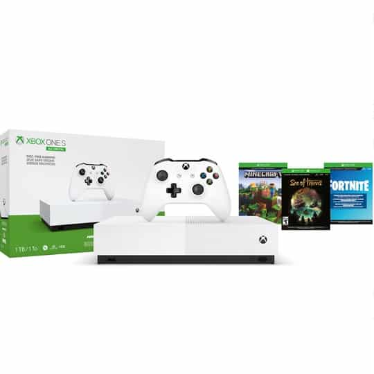 Microsoft Xbox One S 1TB All Digital Edition Console Now 9 (Was 9.99) **Black Friday Price**