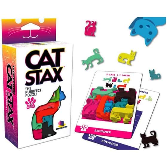 Brainwright Cat STAX The Perfect Puzzle Now .79 (Was .99)