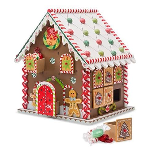 Wooden Gingerbread House Advent Calendar Now .50 (Was .98)