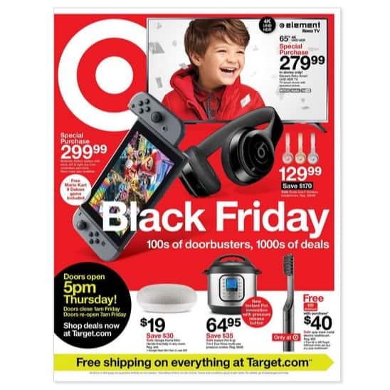 Target Black Friday Deals are LIVE
