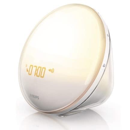 Philips Wake-Up Light Alarm Clock with Sunrise Simulation Now .99 (Was 5.18)