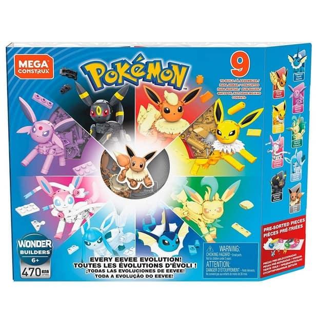 Mega Construx Pokemon Every Eevee Evolution! Now .99 (Was .99)