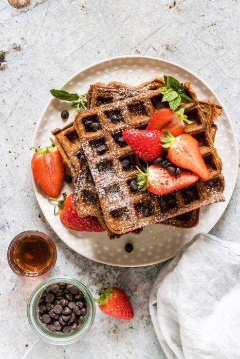 chocolate-chip-sweet-potato-waffles-with-berries-32