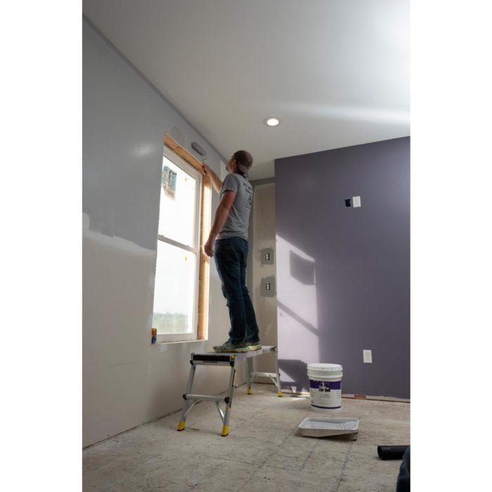 Gorilla Ladders Aluminum Slim-Fold Work Platform Now .90 (Was )