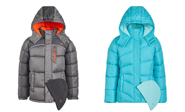 Snag These Cute Kids Puffer Jackets for Only .99 Each