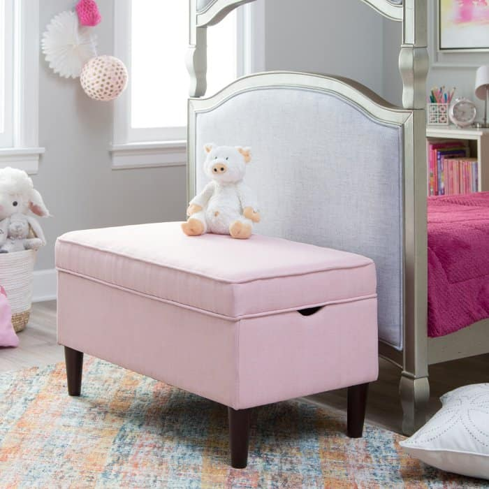 Classic Playtime Hannah Upholstered Storage Bench Now  Shipped (Was 5)