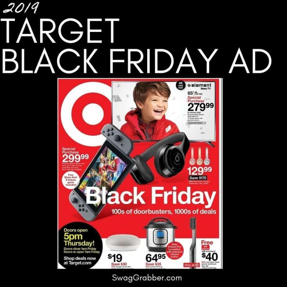 2019 Target Black Friday Ad Scan