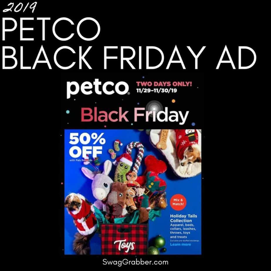 2019 Petco Black Friday Ad Scan