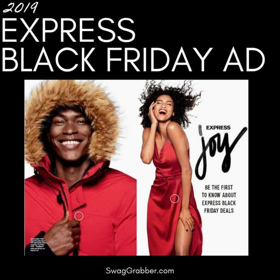2019 Express Black Friday Ad Scan