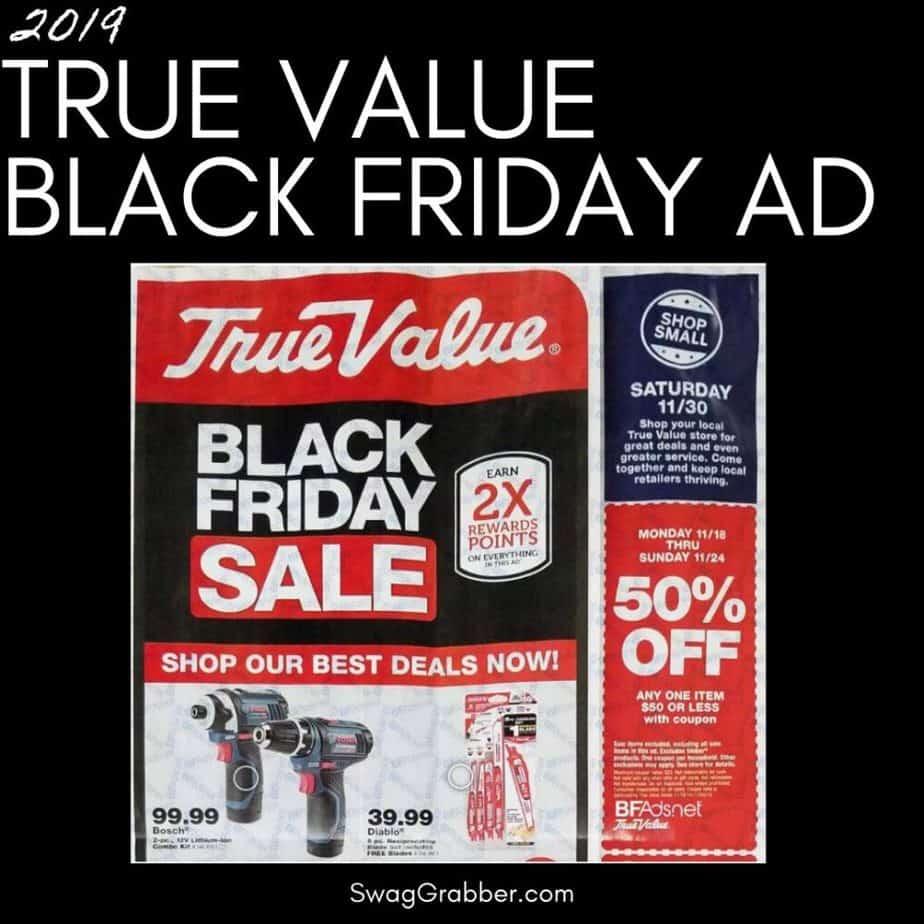 2019 True Value Black Friday Ad Scan
