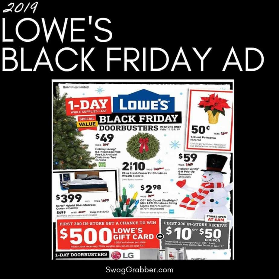 2019 Lowe S Black Friday Ad Scan Swaggrabber