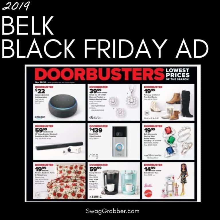 2019 Belk Black Friday Ad Scan
