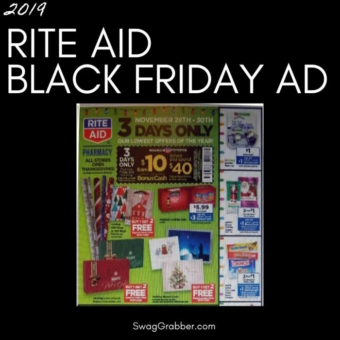 2019 LEAKED Rite Aid Black Friday Ad Scan