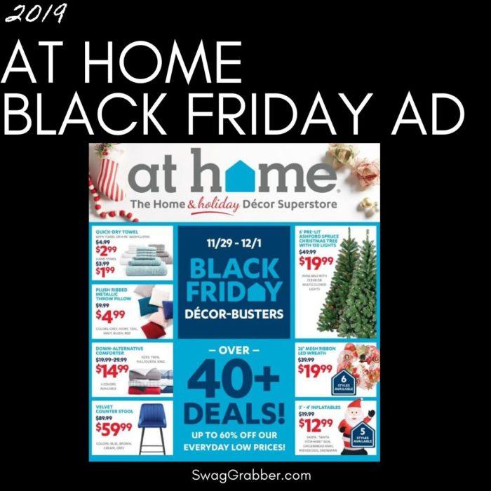 2019 At Home Black Friday Ad