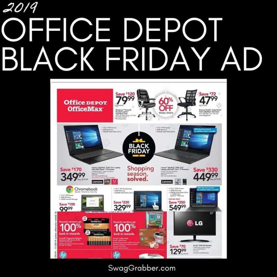 2019 Office Depot Black Friday Ad