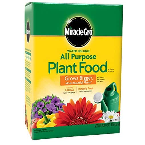 Miracle-Gro Water Soluble All Purpose Plant Food, 10 lbs Now .98 (Was .99)